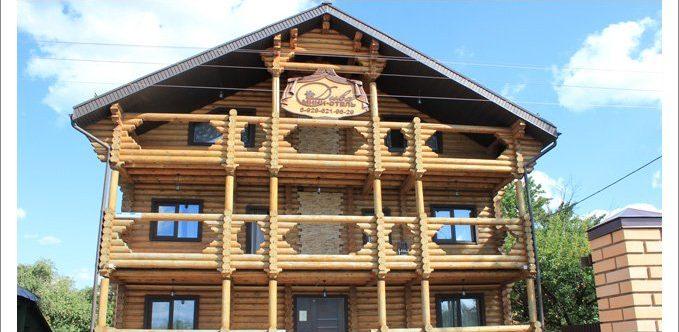 Здание гостиницы Дива